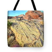 Gold Lava Flow In Valley Of Fire Tote Bag