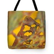 Gold Leaf 3 Tote Bag