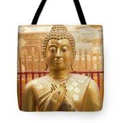 Gold Leaf Buddha Tote Bag