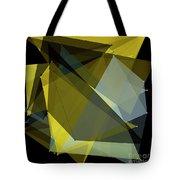 Gold Mine Polygon Pattern Tote Bag