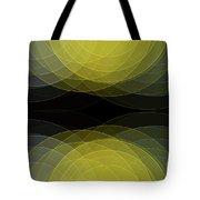 Gold Mine Semi Circle Background Horizontal Tote Bag