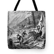 Gold Mining, 1853 Tote Bag