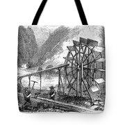 Gold Mining, 1860 Tote Bag