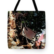 Gold Mining Virginia City Nv Tote Bag