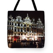 Gold Of The Night Tote Bag
