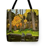 Gold On The River Meadow Park Lyons Co Tote Bag