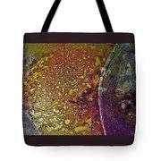 Gold Path Tote Bag