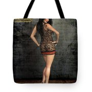 Gold Plated Invitation Tote Bag