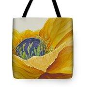 Gold Poppy Tote Bag
