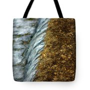 Gold Rush Abstract Tote Bag