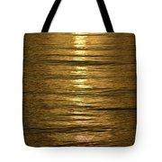 Gold Sea Tote Bag
