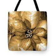 Gold Shimmer Tote Bag