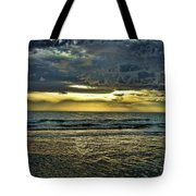 Gold Skies Tote Bag