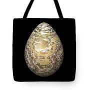 Gold-speckled Egg Tote Bag