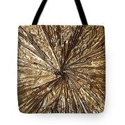 Gold Spin Tote Bag