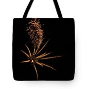 Gold Star Tail Tote Bag