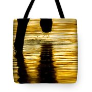 Gold Strike Tote Bag