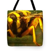 Gold Syrphid Fly Tote Bag