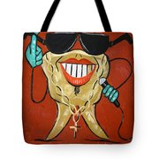 Gold Tooth Tote Bag by Anthony Falbo