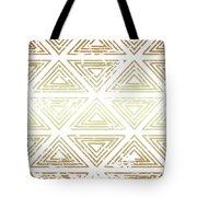 Gold Tribal Tote Bag