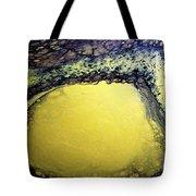 Gold Underground Tote Bag