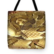 Gold Viper Tote Bag