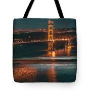 Golde Gate Bridge Tote Bag