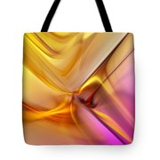 Golden Abstract 042711 Tote Bag