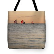 Golden Afterglow Tote Bag