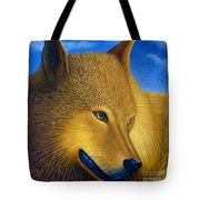 Golden Alpha Tote Bag
