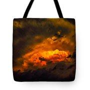 Golden Anvil Tote Bag