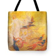 Golden Autumn Fairy Tale Tote Bag