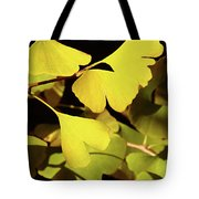 Golden Autumn In Tokyo Tote Bag