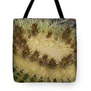 Golden Barrel Cactus Tote Bag