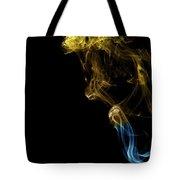 Golden Blue Tote Bag
