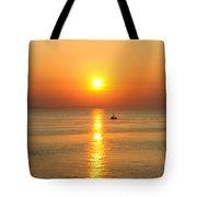 Golden Border  Tote Bag