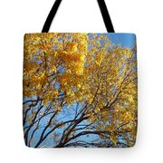 Golden Boughs Tote Bag