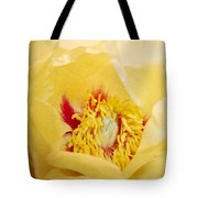 Golden Bowl Tree Peony Bloom Tote Bag