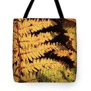 Golden Bracken Tote Bag