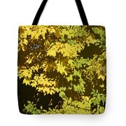 Golden Branches Tote Bag