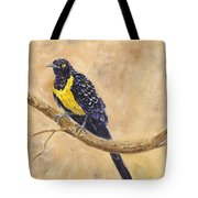Golden Breasted Starling Tote Bag
