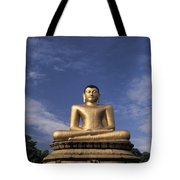 Golden Buddha Tote Bag
