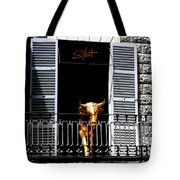 Golden Bull Tote Bag