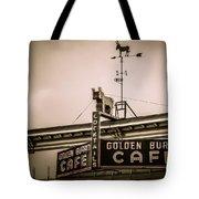 Golden Burro Cafe 2 Tote Bag