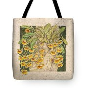 Golden Cascade Tote Bag