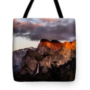 Golden Cathedral Tote Bag