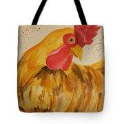 Golden Chicken Tote Bag