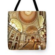 Golden City Hall Tote Bag