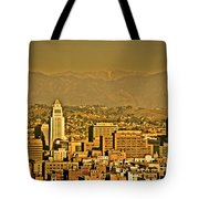 Golden City Hall La Tote Bag