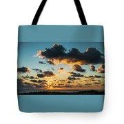 Golden Cloud Sunrise Delray Beach Florida Tote Bag